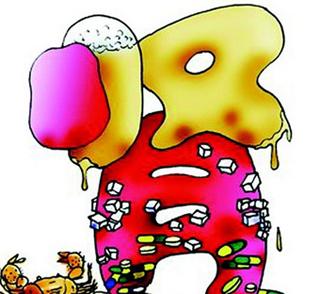 肾脏血管解剖结构图