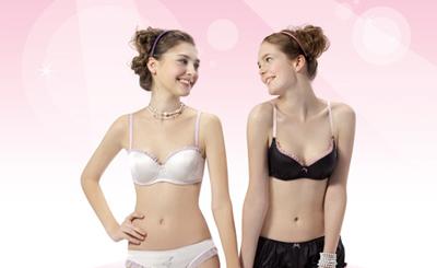 老中青年人如何选内衣:少女宜穿背心式